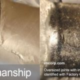 Substandard Oversized Joints Identified With IMCORP Factory Grade® Technology